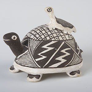 Turtle figurine by Frances P. Torivio