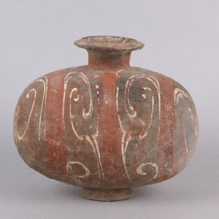 Cocoon-shaped jar  (MMA 2012.91.60)