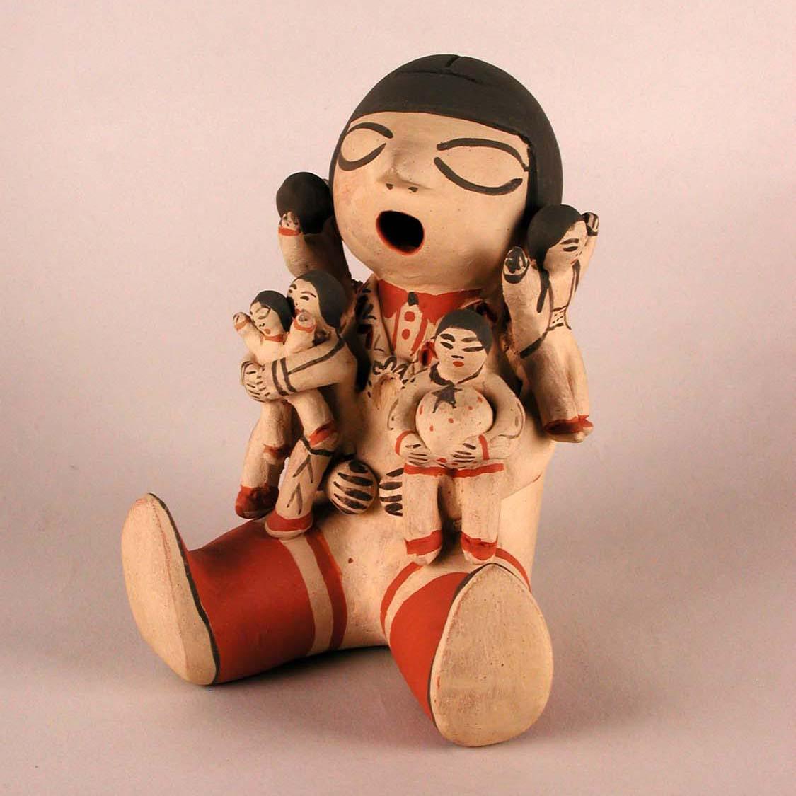 Object Monday: Kʾúutìimʾé (Cochiti) Storyteller