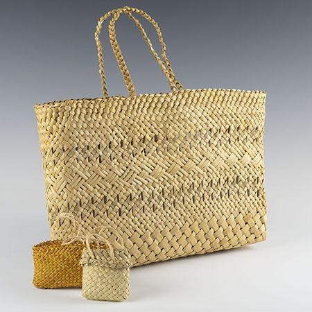 Māori Kete Baskets
