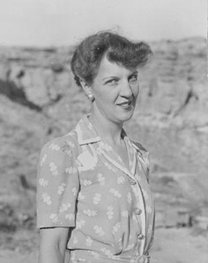 At Chaco Canyon, 1941