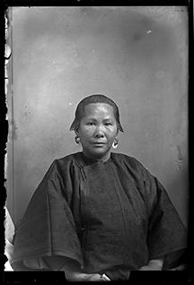 Portrait of a woman, Socorro, New Mexico