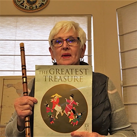 Phyllis Herbertson reads The Greatest Treasure