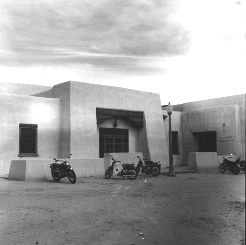 Anthropology Building in the early 1960s