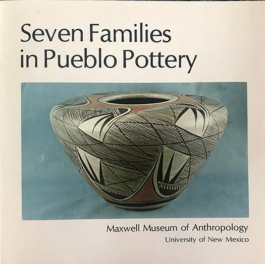 Seven Families in Pueblo Pottery Cover