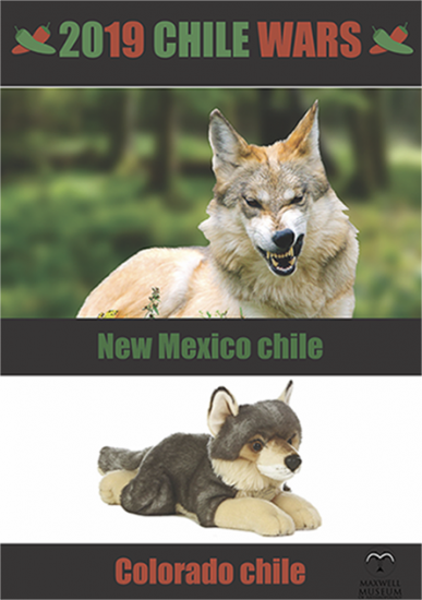 New Mexico Chile wars poster