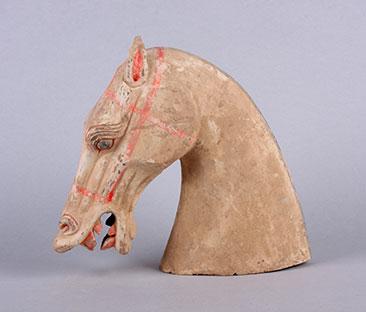 Terra Cotta horse head