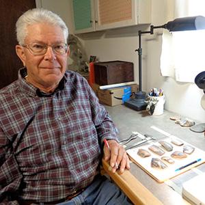 Hayward Franklin in Lab 2018