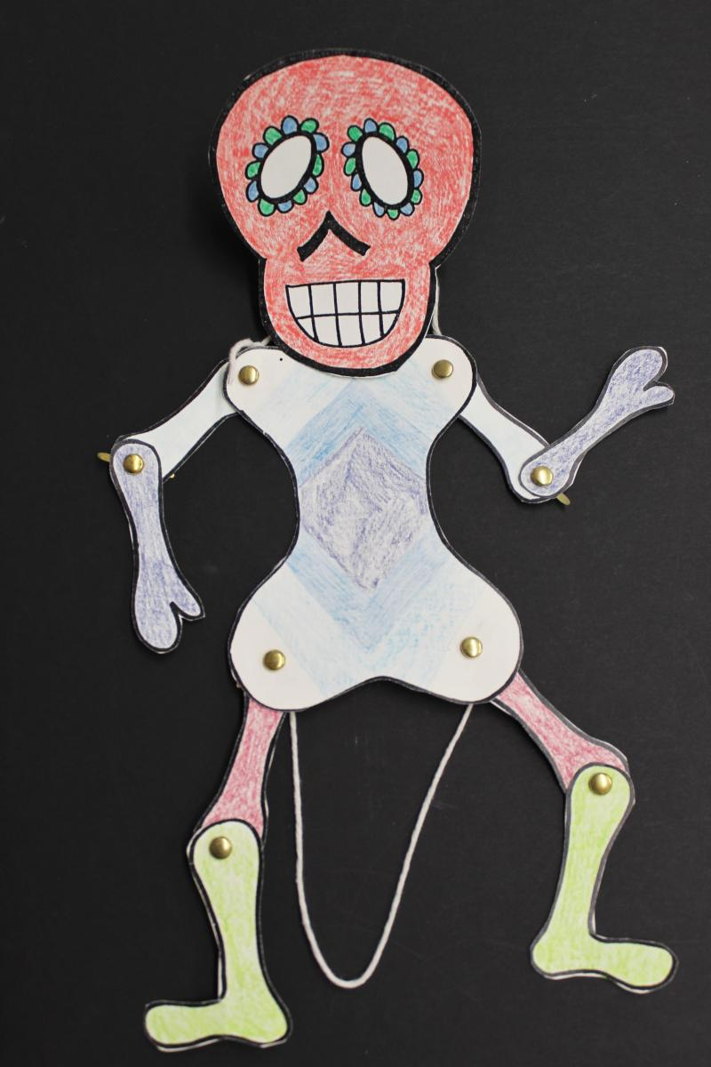 DIY DAncing Skeleton
