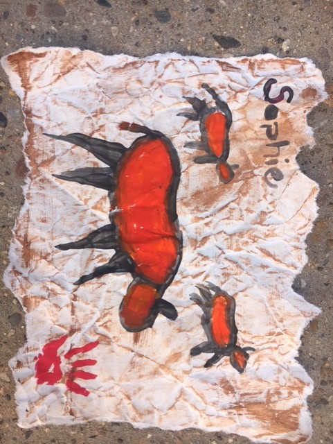 DIY cave painting