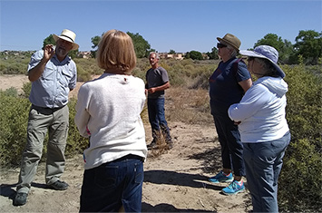 Docents in the field