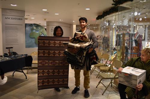 Navajo rugs at the Maxwell Appraisal Clinic 2018