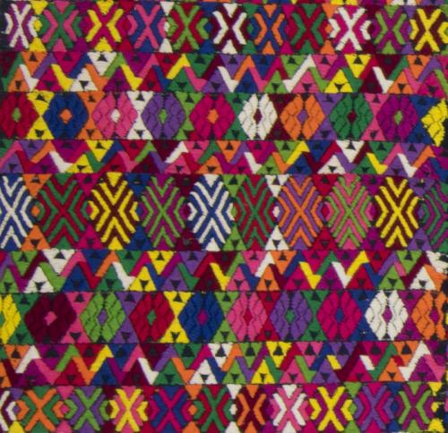 Detail: Huipil from Cobán, Alta Verapaz, Guatemala