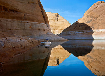 Lake Powell image from the Drowned River exhibition