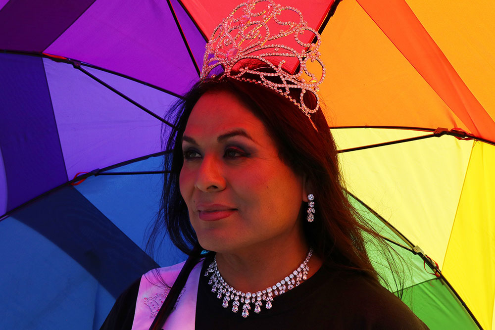 Queen of Diné Pride, Navajo Nation, 2018. Rapheal Begay