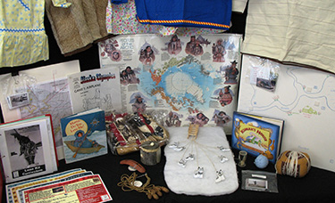 Bering Sea cultural artifacts