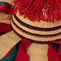 Ribboned hat (lixton pixolal),  San Juan Chamula, Chiapas, Mexico.MMA 2018.23.76
