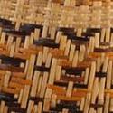 Twill plaited Choctaw basket, maker unknown. (MMA 74.10.18)