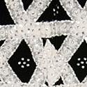 Black velvet, appliqued and embroidered apron, San Juan Nuevo (MMA 81.22.137)