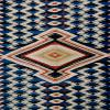 Detail, large Rio Grande Blanket with central Saltillo motif, 1865-1875. MMA 63.34.84